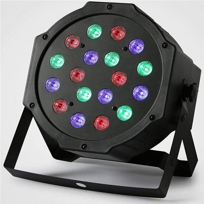 Proiector cu lumini RGB 18 culori joc de lumini pentru petreceri, cluburi [0]