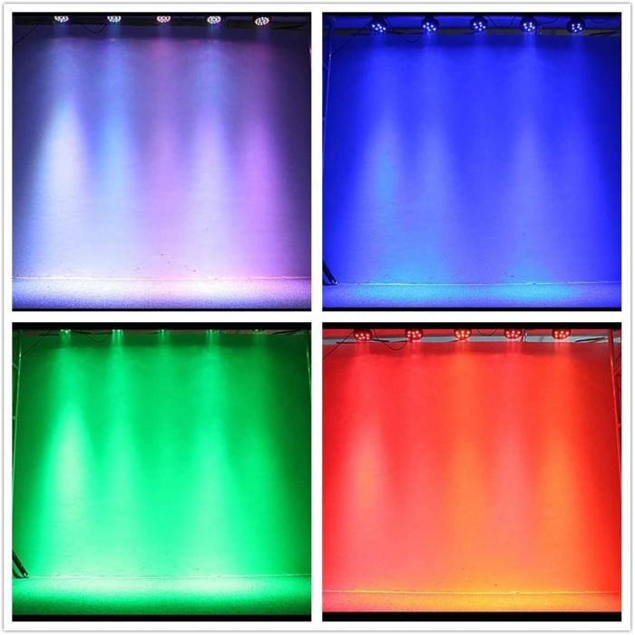 Proiector cu lumini RGB 18 culori joc de lumini pentru petreceri, cluburi [4]