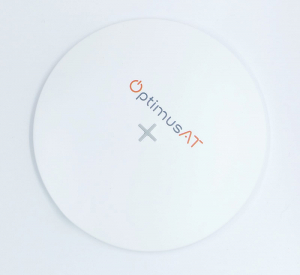 Incarcator rapid ultraslim wireless Optimus AT 61 15W Qi (inductie), type-C, alb [1]