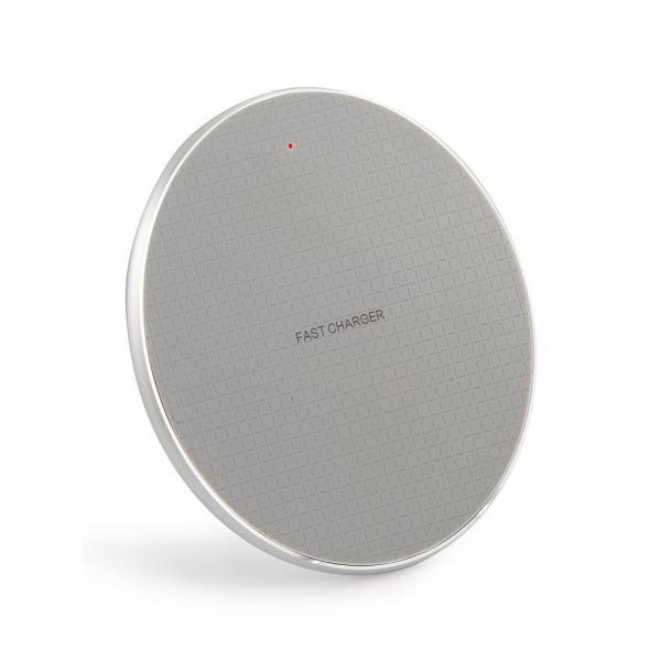 Incarcator rapid ultraslim wireless Optimus AT BC 06 10W Qi, grey [0]