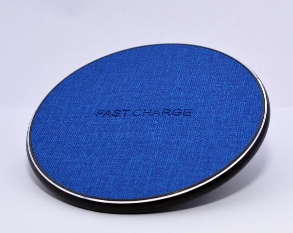 Incarcator rapid ultraslim wireless Optimus AT BC09 10W Qi (inductie), blue jeans [2]