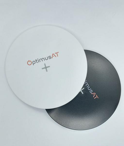 Incarcator rapid ultraslim wireless Optimus AT 61 15W Qi (inductie), type-C, alb [6]