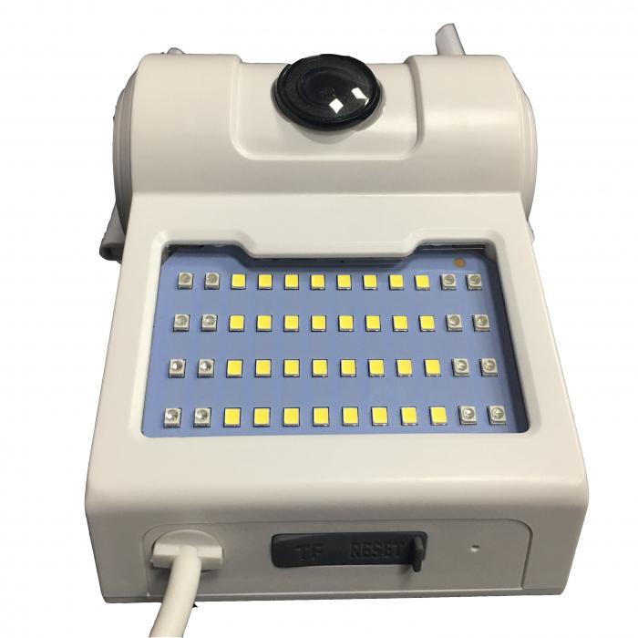 Lampa de perete cu camera de supraveghere IP WIFI Optimus AT D2-R fullHD 1920*1080P 2 mp, night vision, aplicatie telefon, alb [8]