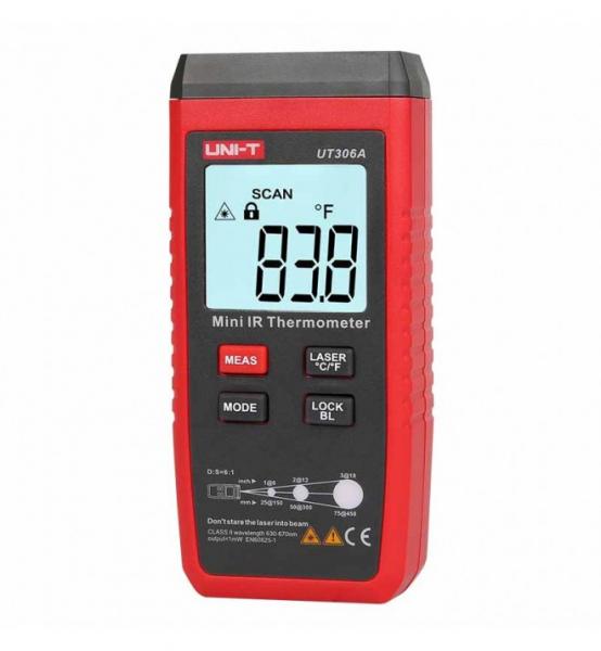 Mini Termometru industrial profesional  -35 +300°C Uni-T UT306A [1]