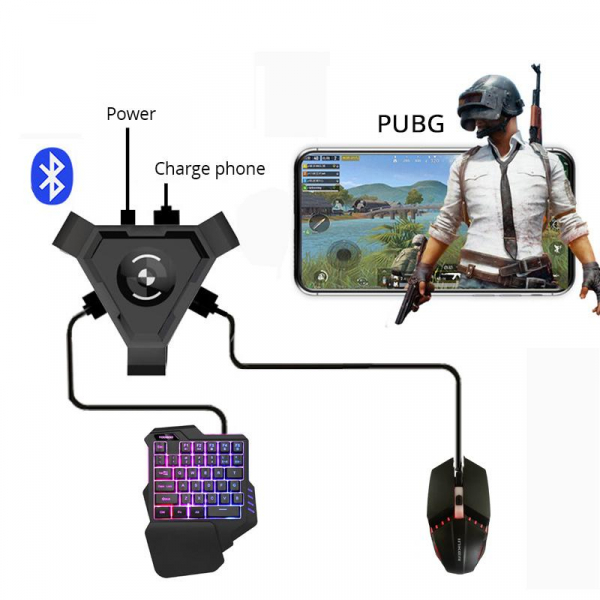 Kit P5 combo game pack - compatibil iOs, Android, pentru PUBG [0]