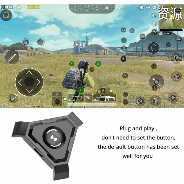 Kit P5 combo game pack - compatibil iOs, Android, pentru PUBG [1]