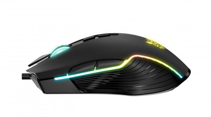 Mouse Gaming Onikuma CW905, RGB, 6400 DPI- negru [1]