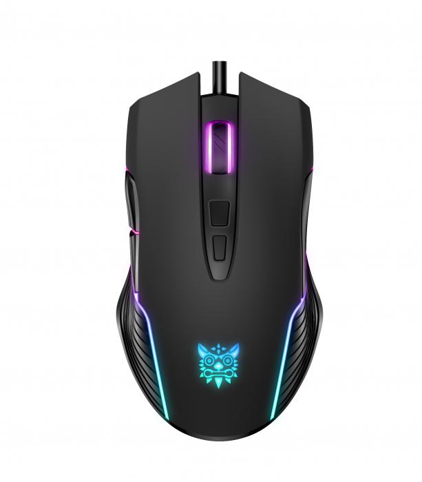 Mouse Gaming Onikuma CW905, RGB, 6400 DPI- negru [2]