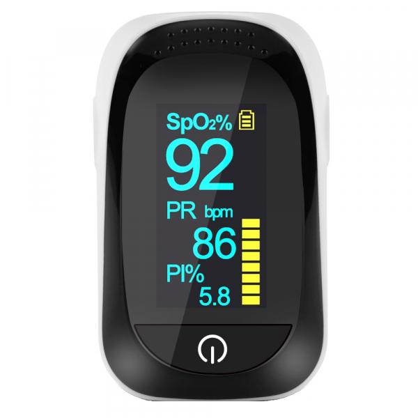Puls-Oximetru Optimus AT A200 masurare continua puls, nivel oxigen din sange SpO2, index perfuzie PI, inregistrare date alb [0]