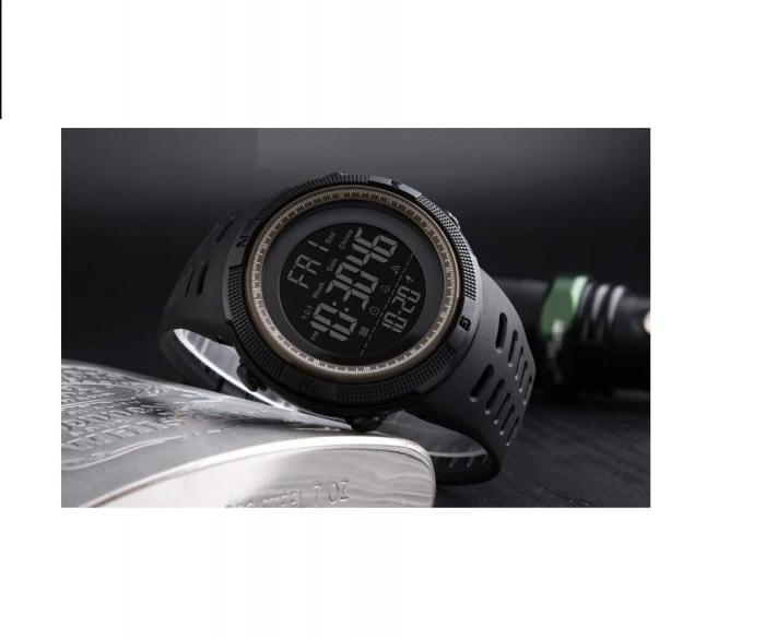 Ceas sport cu alarma SK75, negru [2]