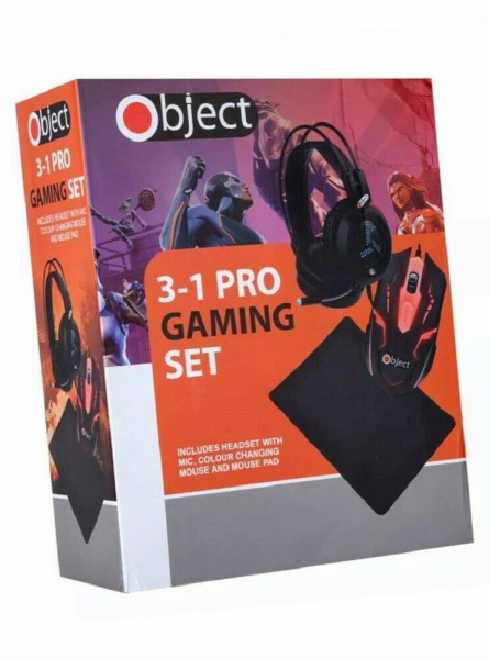 Kit Gaming 3 in 1 - casti, mouse, pad - Object [5]