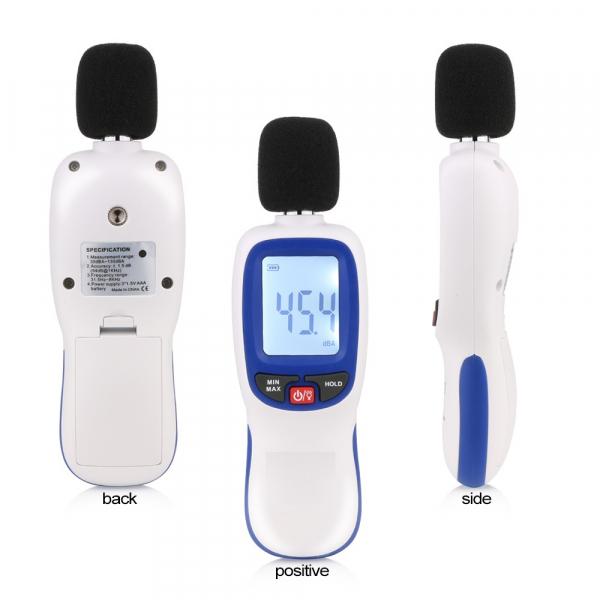 Sonometru Optimus AT 85 plus aparat de masurare a decibelilor decibelmetru [2]