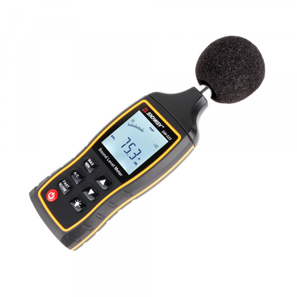 Sonometru profesional SNDWAY 523 plus aparat de masurare a decibelilor decibelmetru [1]