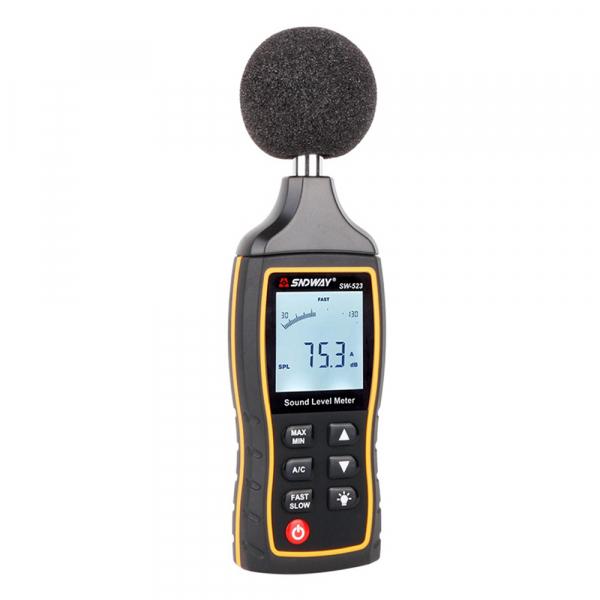 Sonometru profesional SNDWAY 523 plus aparat de masurare a decibelilor decibelmetru [0]