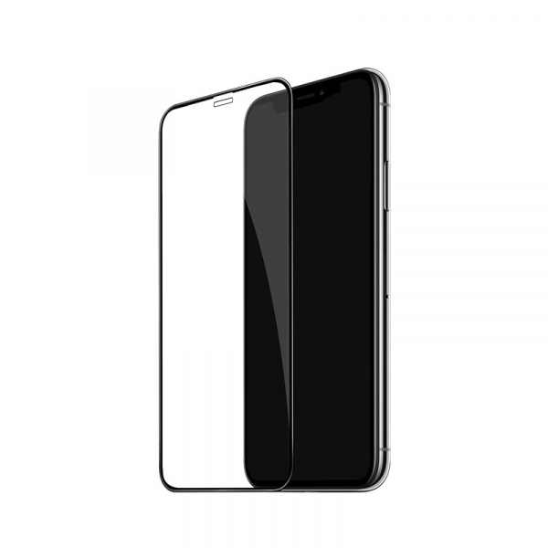 Folie protectie ecran 5D de sticla duritate 9H, antiamprenta pentru Iphone XR [4]