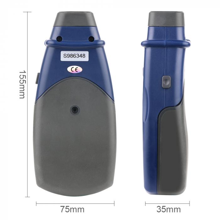Tahometru digital fara contact Optimus AT 2234, masurare viteza rotatie pe minut RPM [4]