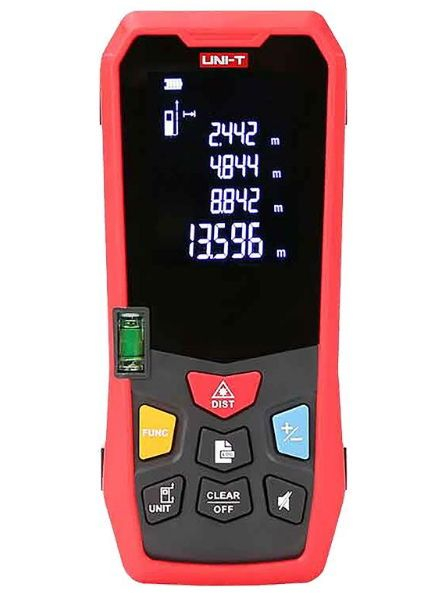 Telemetru Uni-T LM40 functii multiple, 5 cm-40 m, distanta, aria, volum, pitagora, boloboc, toleranta 1,5mm [0]