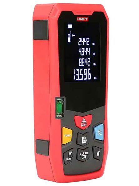 Telemetru Uni-T LM40 functii multiple, 5 cm-40 m, distanta, aria, volum, pitagora, boloboc, toleranta 1,5mm [1]