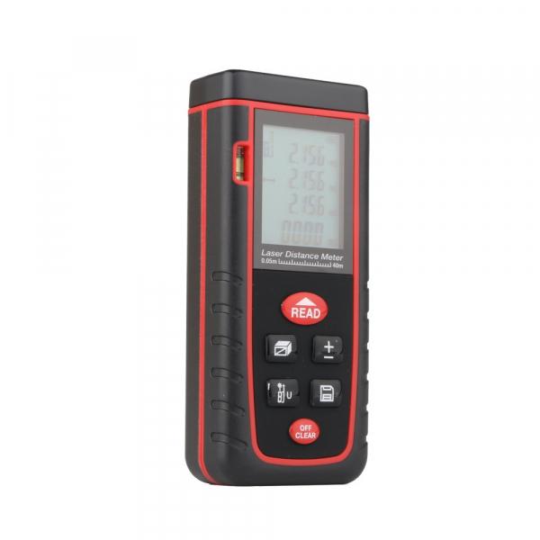 Telemetru profesional Optimus AT W40 functii multiple, 5 cm-40 m, distanta, aria, volum, pitagora, nivela, 30 memorii,  toleranta 2mm [5]