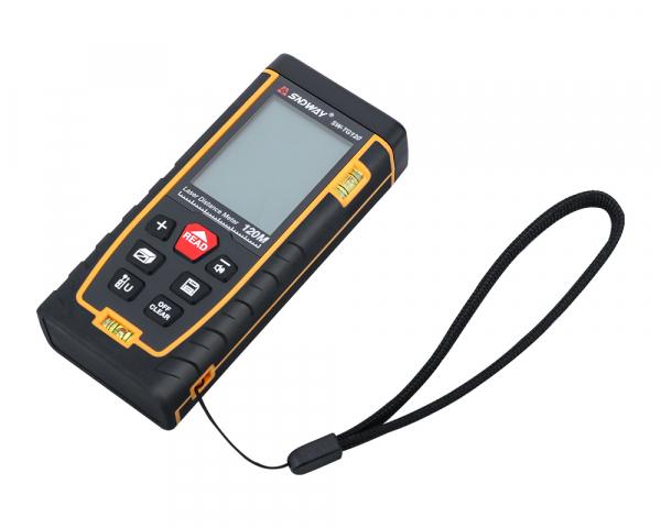 Telemetru profesional SNDWAY TG50, 2 x boloboc, functii multiple, 5 cm-50 m, distanta, aria, volum, pitagora, nivela, 30 memorii,  toleranta 2mm [2]