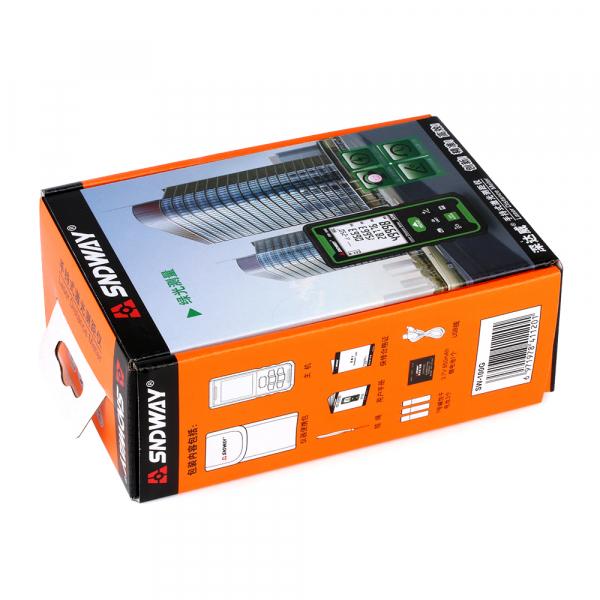Telemetru profesional SNDWAY SW-50G functii multiple, 5 cm-50 m, distanta, aria, volum, pitagora, nivela, 30 memorii,  toleranta 2mm [5]