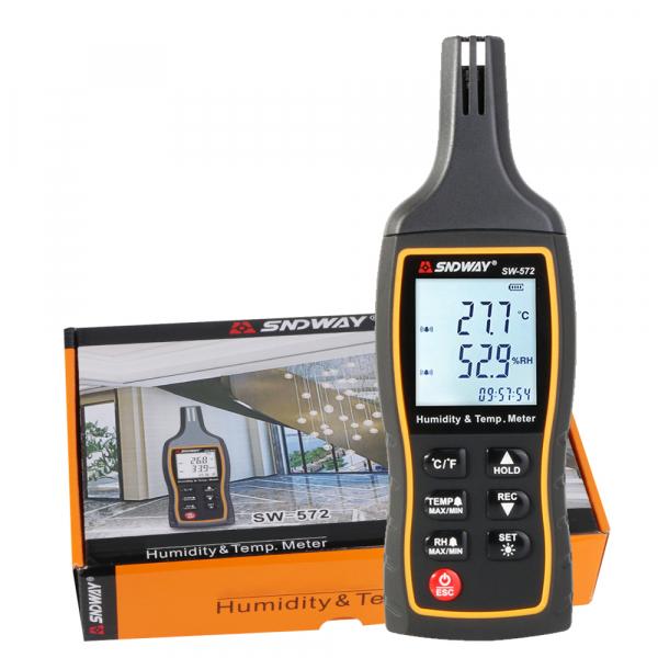 Termohigrometru portabil SNDWAY 572, -20°C + 60°C masurare umiditate si temperatura termometru higrometru [3]