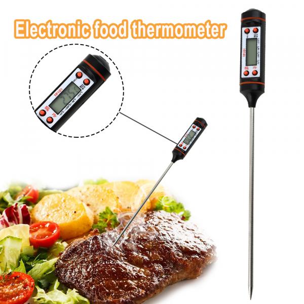 Termometru interval -50°C + 300°C pentru alimente, lichide, gratar, , model 3186 [3]