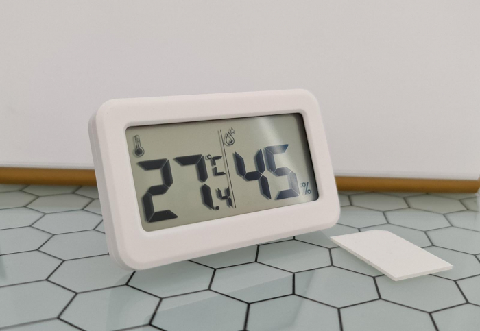 Termometru Higrometru pentru frigider, interval -10 +70°C, model 3228 H alb / negru [4]