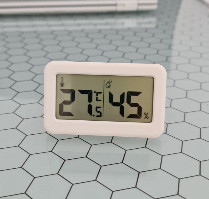 Termometru Higrometru pentru frigider, interval -10 +70°C, model 3228 H alb / negru [0]