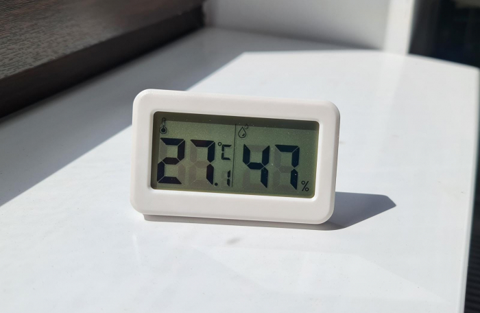 Termometru Higrometru pentru frigider, interval -10 +70°C, model 3228 H alb / negru [3]
