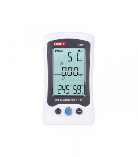 Tester calitate aer - particule PM25, Formaldehida (H2CO), termometru - Uni-T A25F [0]