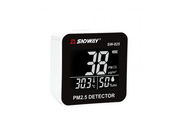 Tester calitate aer - particule PM25, termometru, umiditate - SNDWAY 825 [5]