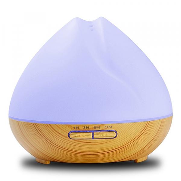 Umidificator Aromaterapie Lampa de veghe SMART Alexa Optimus AT Home™ 1701 cu ultrasunete, 30m², purificator aer, difuzor, rezervor 400ml, light wood TUYA [3]