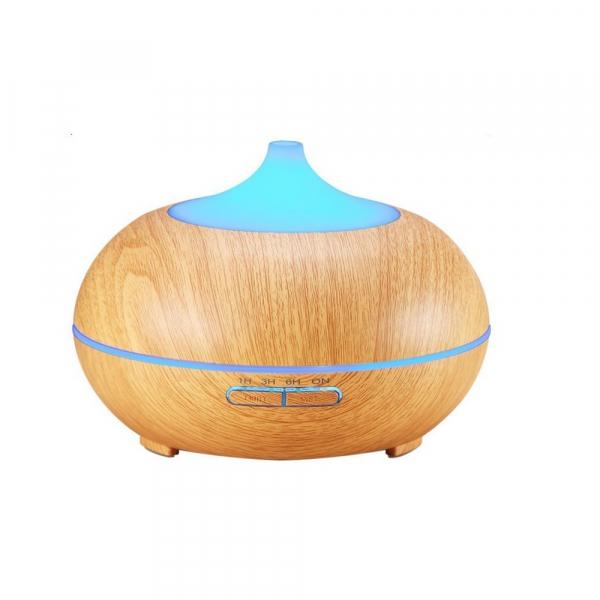 Umidificator Optimus AT Home™ 1704 cu ultrasunete, aromaterapie, 25-30m², purificator aer, difuzor, rezervor 300ml, light wood [1]