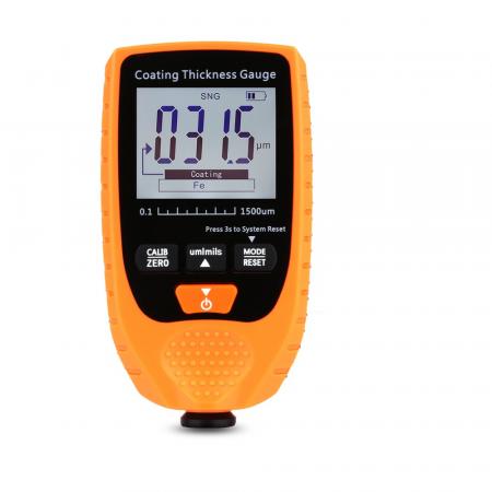 Tester profesional strat de vopsea - interval 0-1500 µm, precizie 3%+2µm, Optimus AT 998 [0]