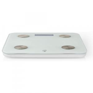 NEDIS WIFIHS10WT inteligent Wi-Fi-s cântare personale BMI Grăsime corporală Apă Oase Muşchi Proteină Securizat sticlă 8 utilizator [3]