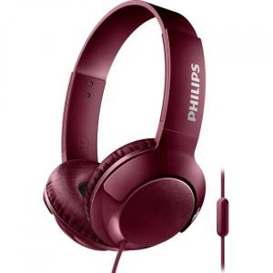 Casti Philips SHL3075RD/00, BASS+ , On-Ear, Rosu [0]