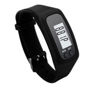 Bratara fitness ultra usoara Optimus AT  X01 pedometru, distanta, calorii, ceas, negru [0]