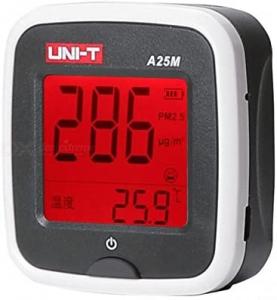 Tester calitate aer cu acumulator pentru particule PM25, termometru - Uni-T A25M [5]