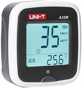 Tester calitate aer cu acumulator pentru particule PM25, termometru - Uni-T A25M [3]
