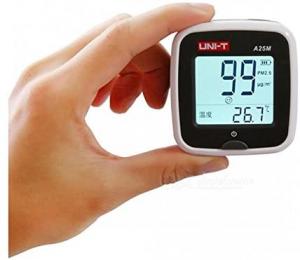 Tester calitate aer cu acumulator pentru particule PM25, termometru - Uni-T A25M [0]