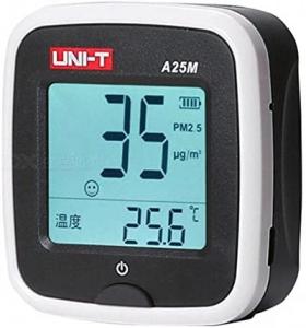 Tester calitate aer cu acumulator pentru particule PM25, termometru - Uni-T A25M [4]