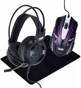 Kit Gaming 3 in 1 - casti, mouse, pad - Object [0]