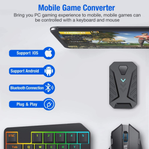 Mix Pro 4 in 1 combo game pack - compatibil iOs, Android, pentru PUBG, [7]