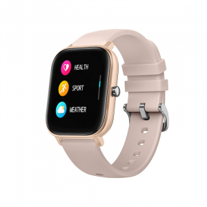 Ceas inteligent (smartwatch) Optimus AT P8 ecran cu touch 1.4 inch color HD, smartwatch, moduri sport, pedometru, puls, notificari, portocaliu [0]