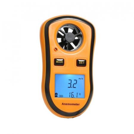 Anemometru multifunctional Optimus AT RZ8809 scara Beaufort temperatura viteza vant [0]