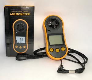 Anemometru multifunctional Optimus AT RZ818 scara Beaufort temperatura viteza vant [2]