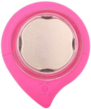 Aparat multifunctional masaj, curatare faciala Optimus AT Skin™  MC-J01  din silicon, rezistent la apa, Pink [1]