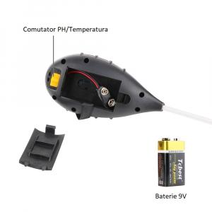 Aparat multifunctional testare PH, umiditate, temperatura pamant, luminozitate Optimus AT 89 sol [5]