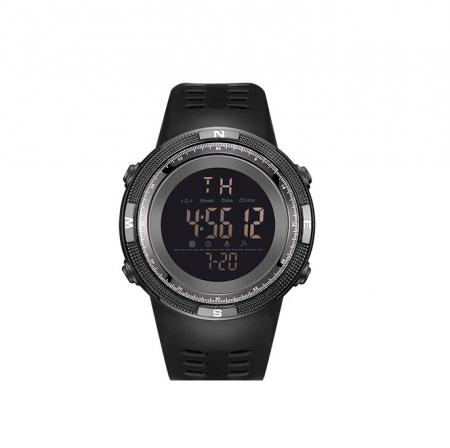 Ceas sport cu alarma SK75, negru [0]